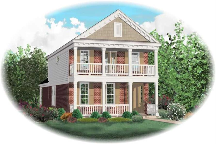 Main image for house plan # 10126