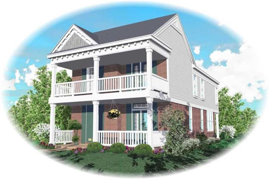 Main image for house plan # 10051