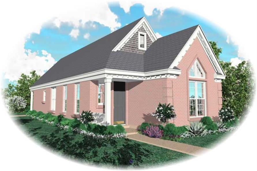 Main image for house plan # 10159
