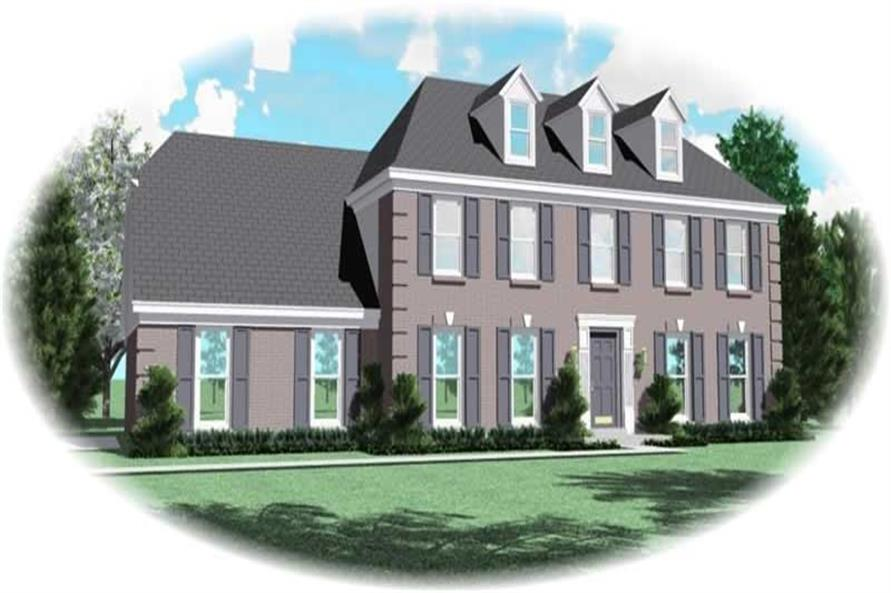 Main image for house plan # 10307