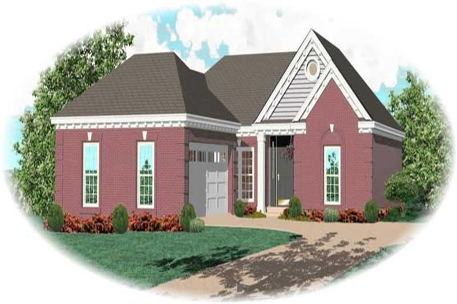 Main image for house plan # 10296