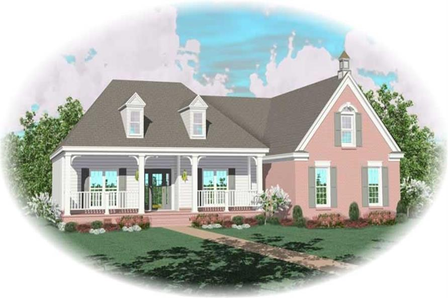 Main image for house plan # 10271