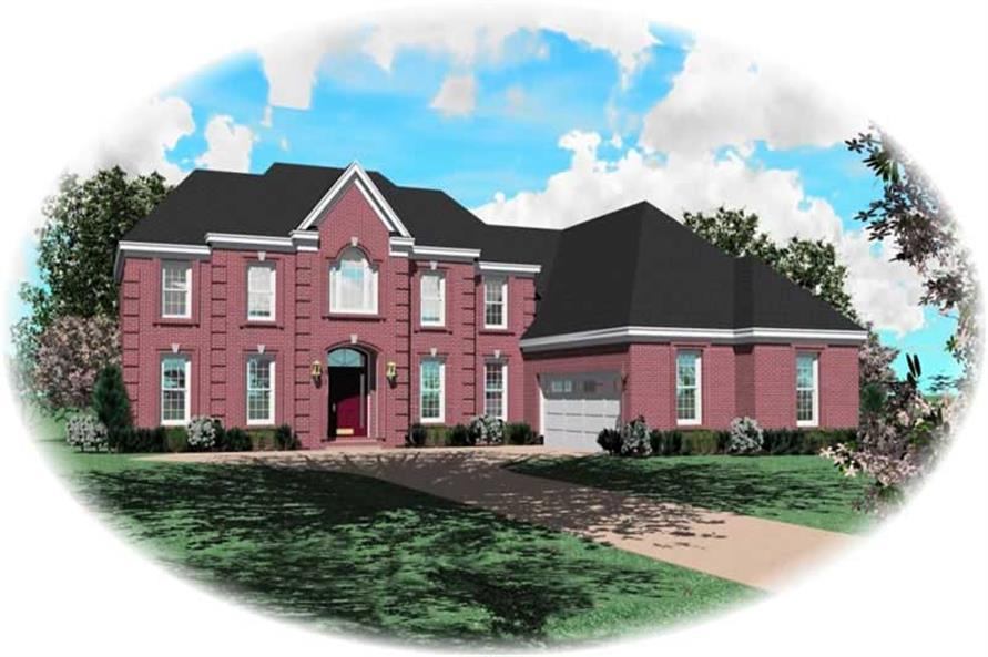 Main image for house plan # 10266