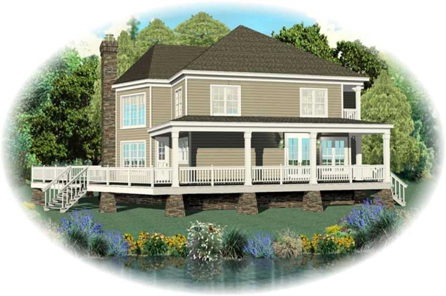 Main image for house plan # 10087