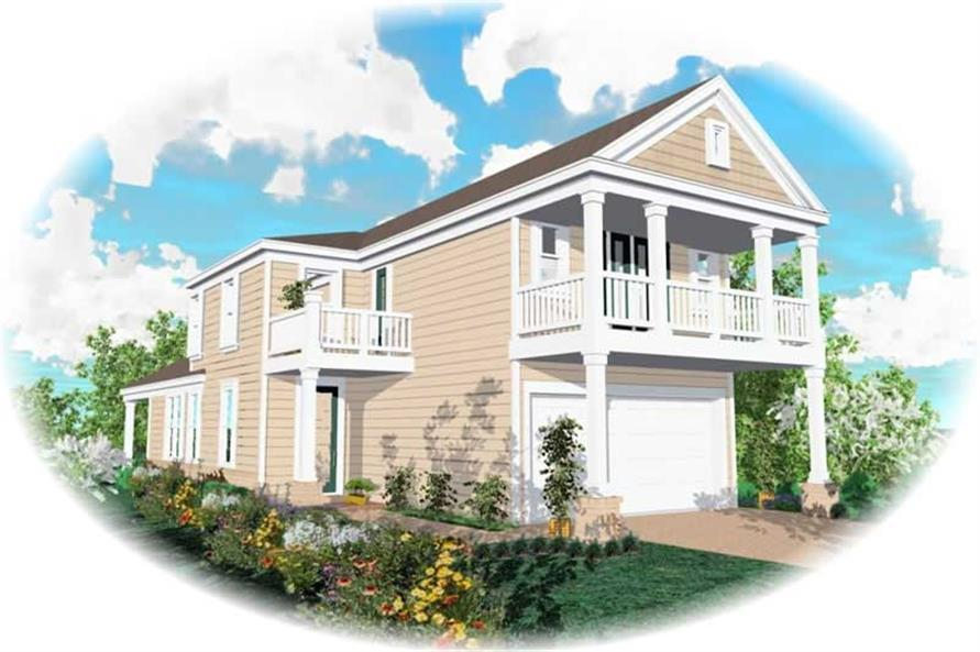 Main image for house plan # 10081