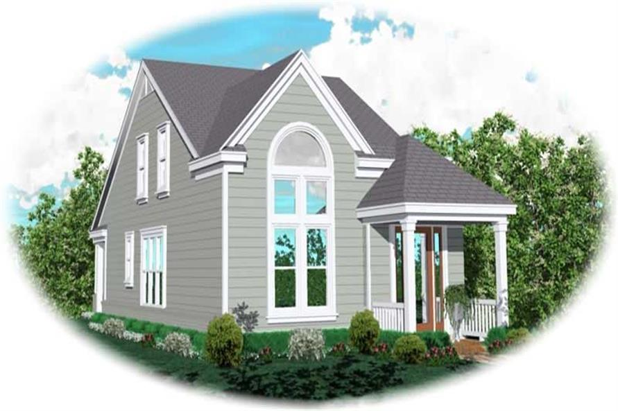 Main image for house plan # 10070