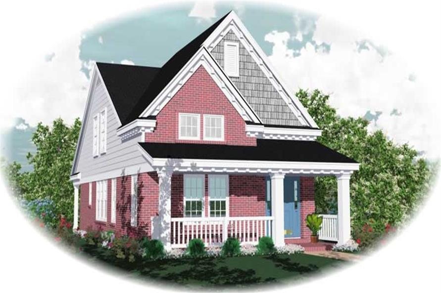Main image for house plan # 10066
