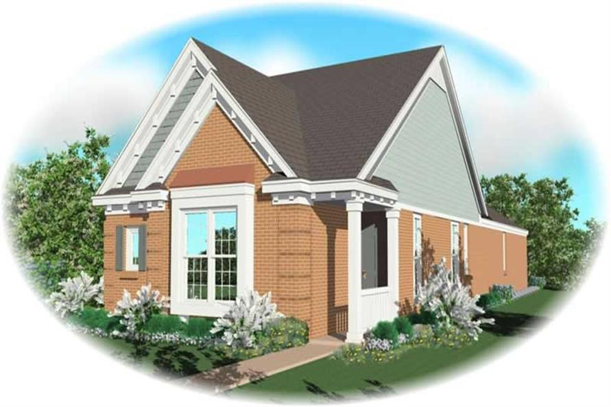 Main image for house plan # 10221