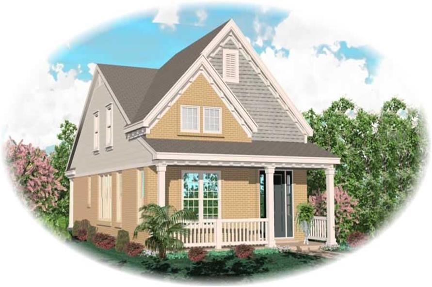 Main image for house plan # 10072