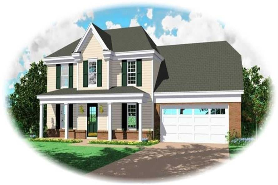 Main image for house plan # 10056