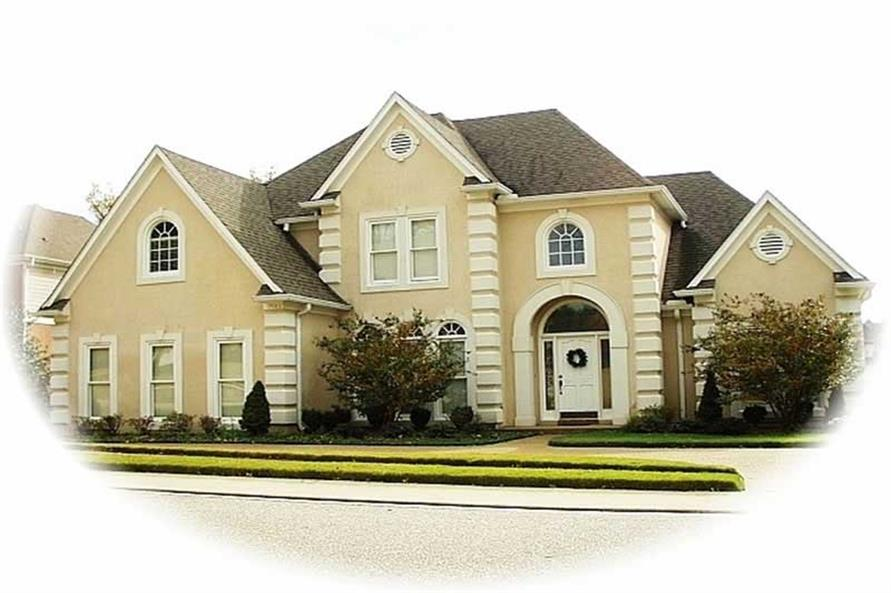 Main image for house plan # 10244