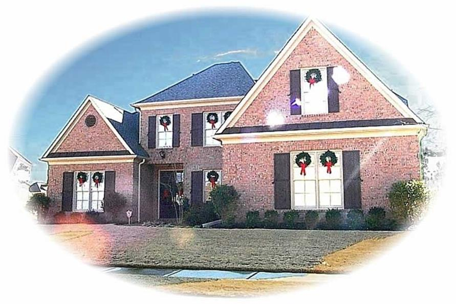 Main image for house plan # 10216