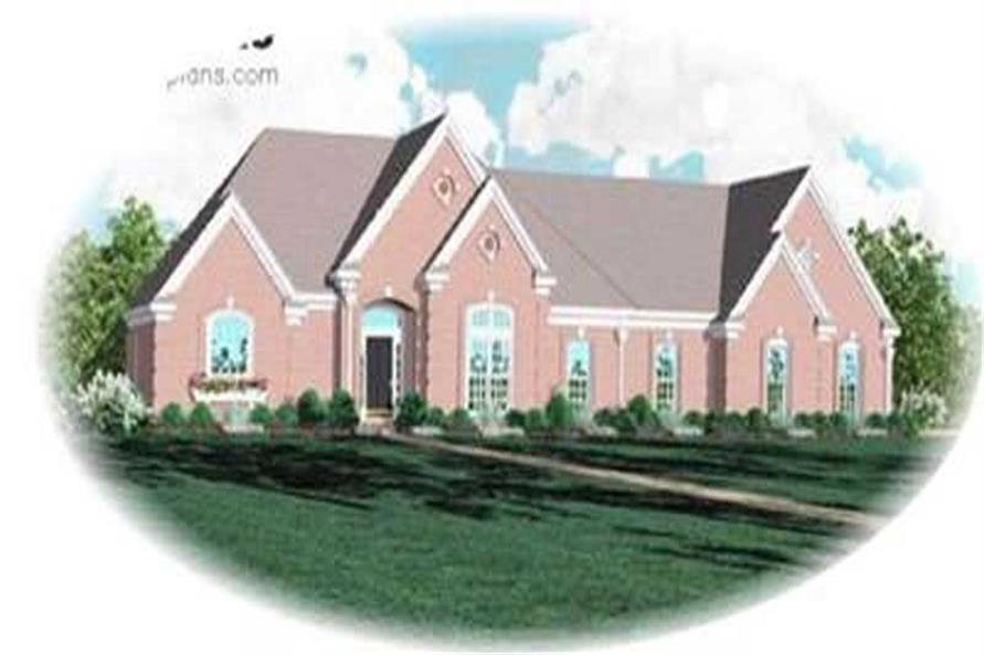 Main image for house plan # 8368
