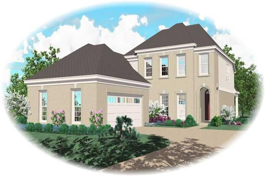Main image for house plan # 10498
