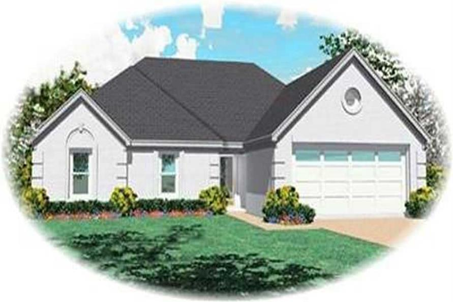 Main image for house plan # 8287