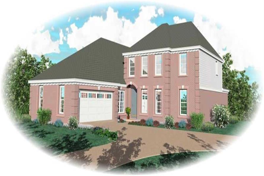 Main image for house plan # 10540
