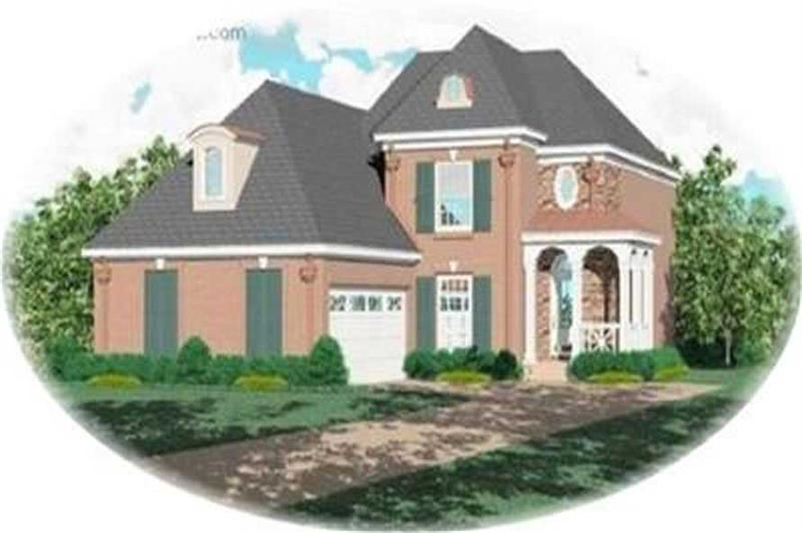 Main image for house plan # 8316