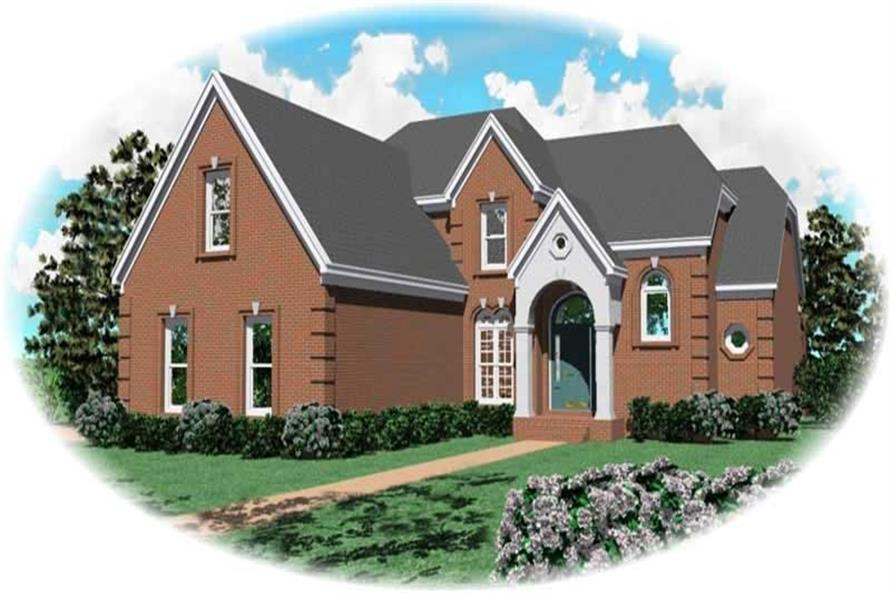 Main image for house plan # 10529