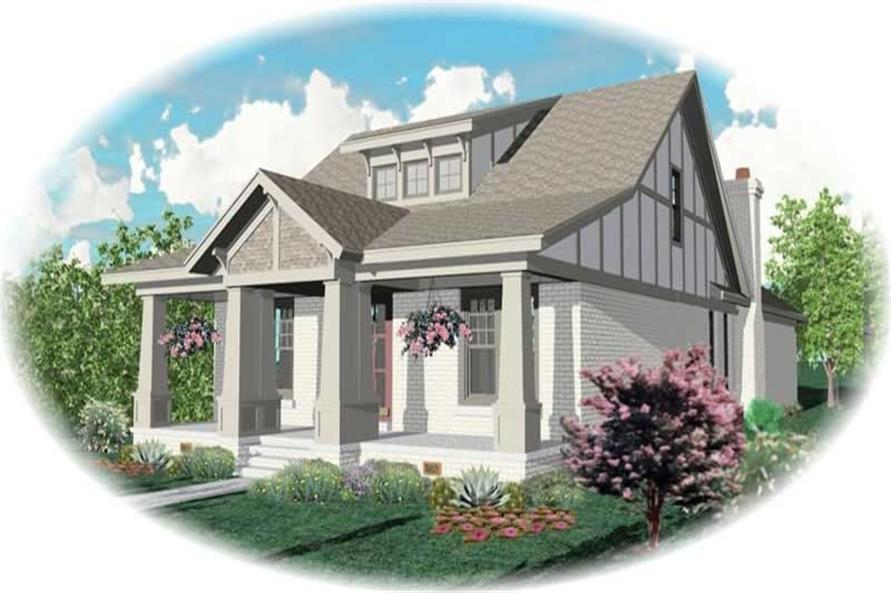 Main image for house plan # 10528