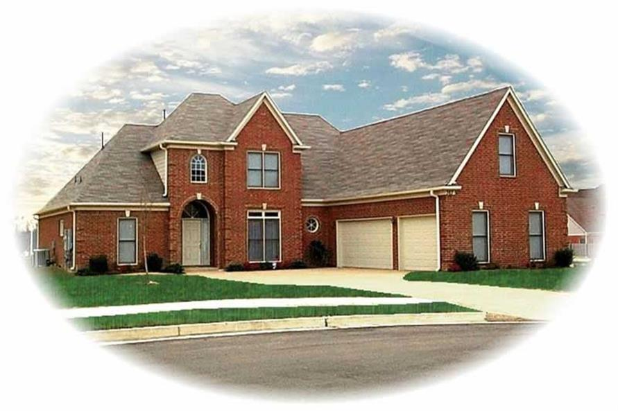 Main image for house plan # 10523
