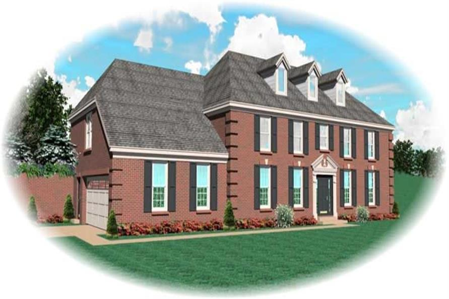 Main image for house plan # 10504