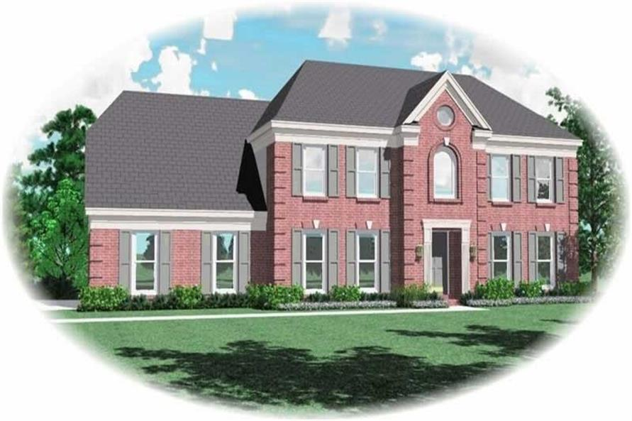 Main image for house plan # 10633