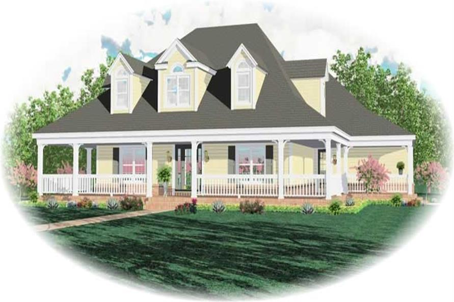 Main image for house plan # 10490