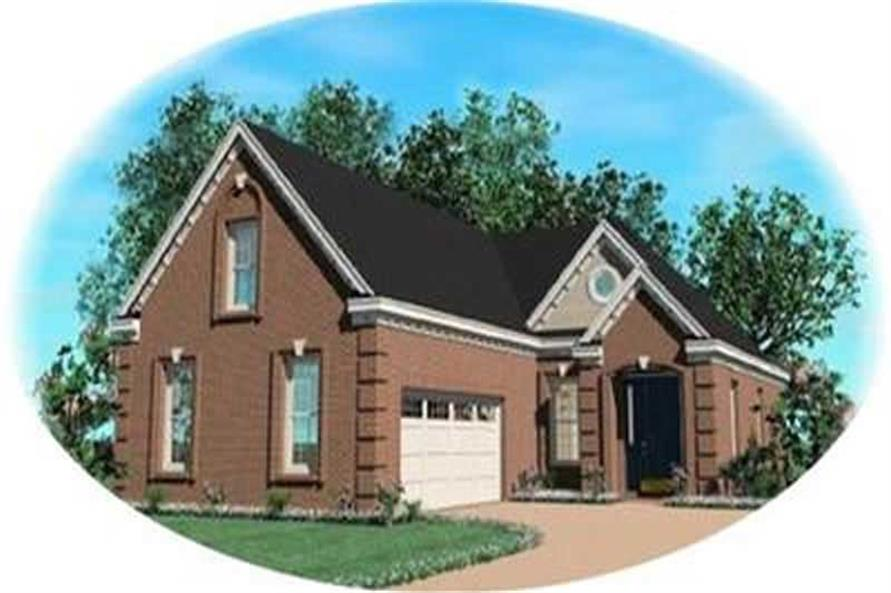 Main image for house plan # 8332