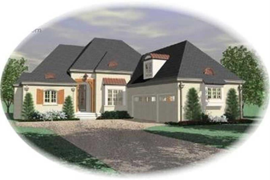 Main image for house plan # 8340