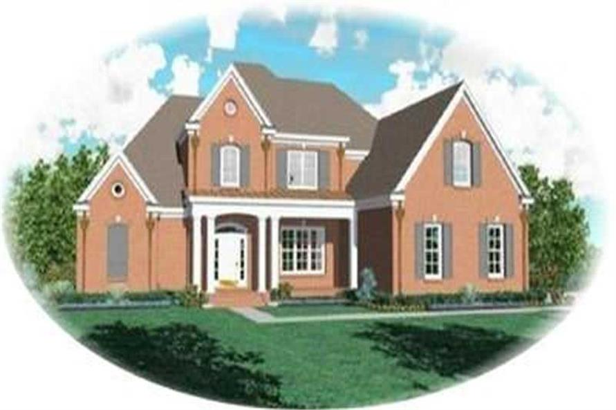 Main image for house plan # 8343
