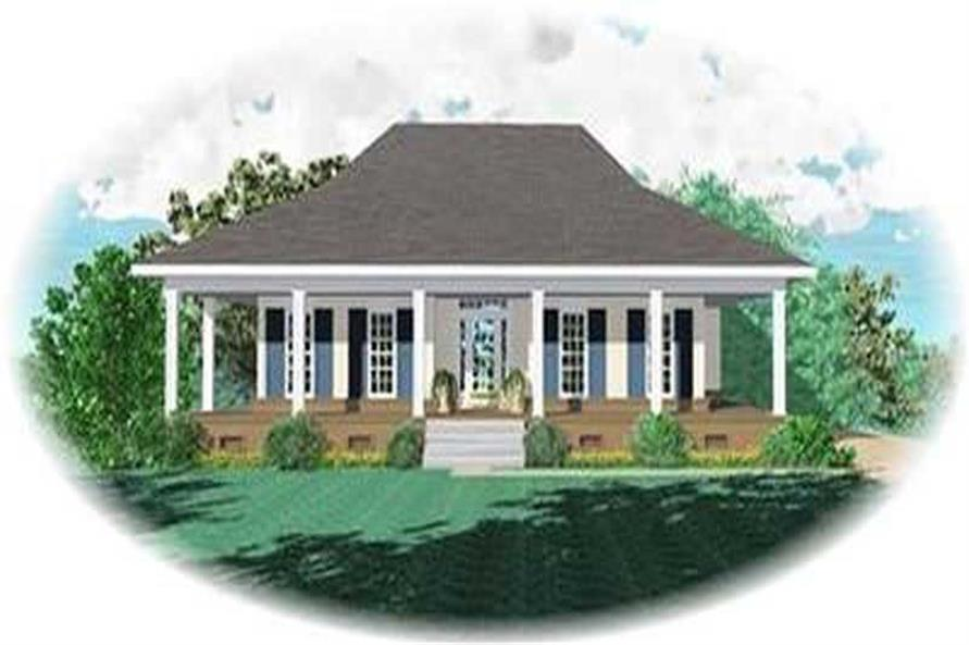 Main image for house plan # 8349
