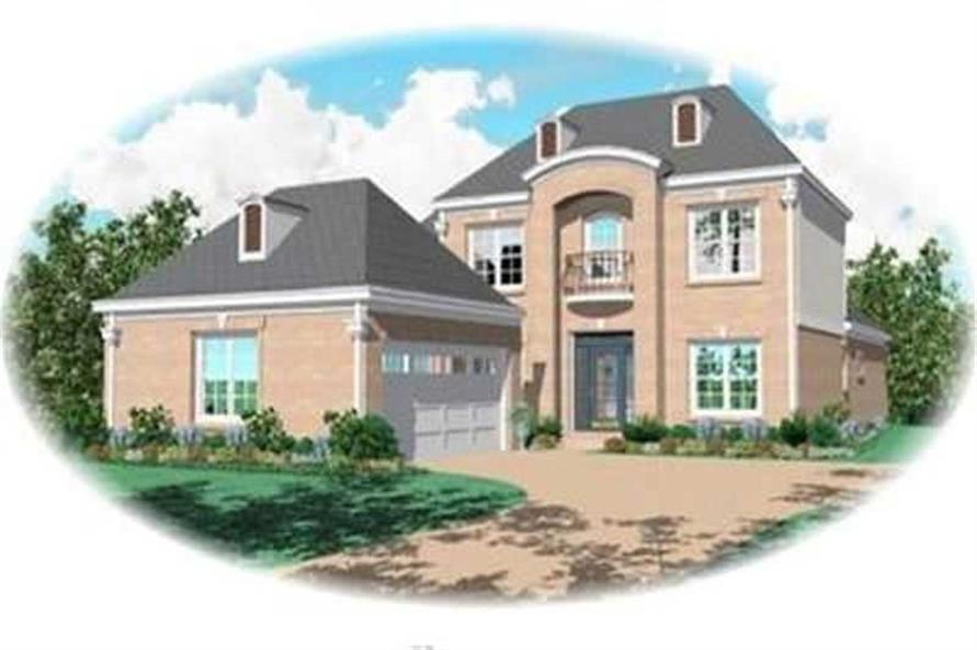 Main image for house plan # 8369