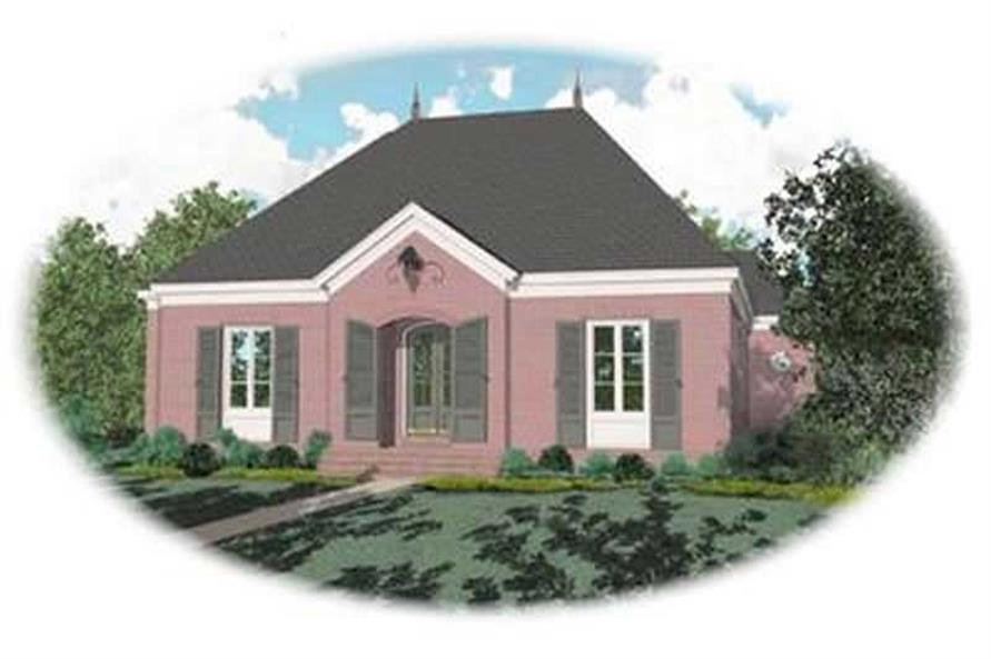 Main image for house plan # 8371