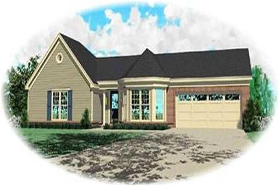 Main image for house plan # 8297