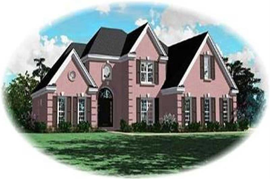 Main image for house plan # 8388