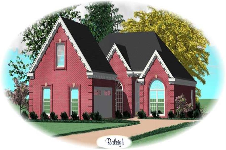 Main image for house plan # 10568