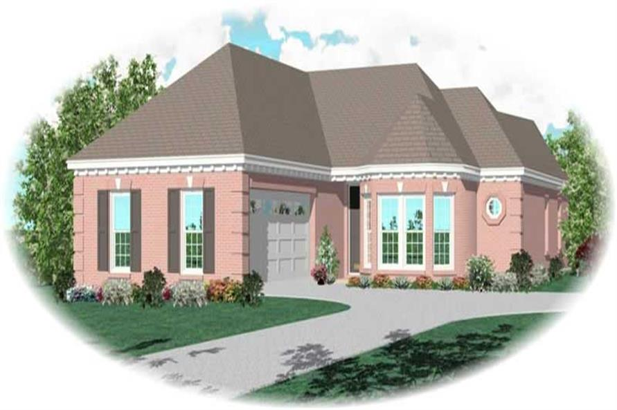 Main image for house plan # 10567