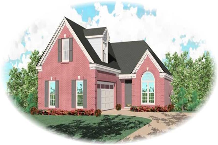 Main image for house plan # 10566