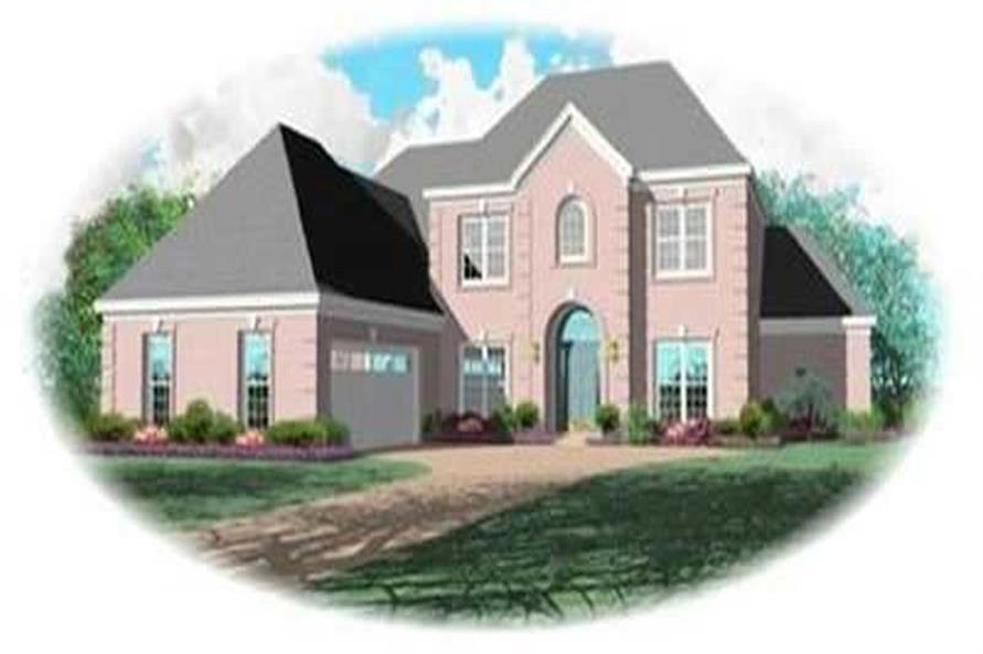 Main image for house plan # 8392