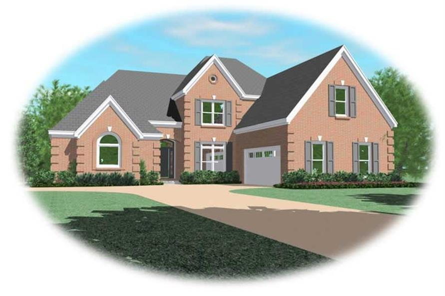 Main image for house plan # 10621