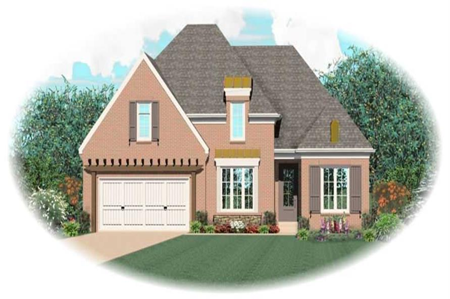 Main image for house plan # 10612