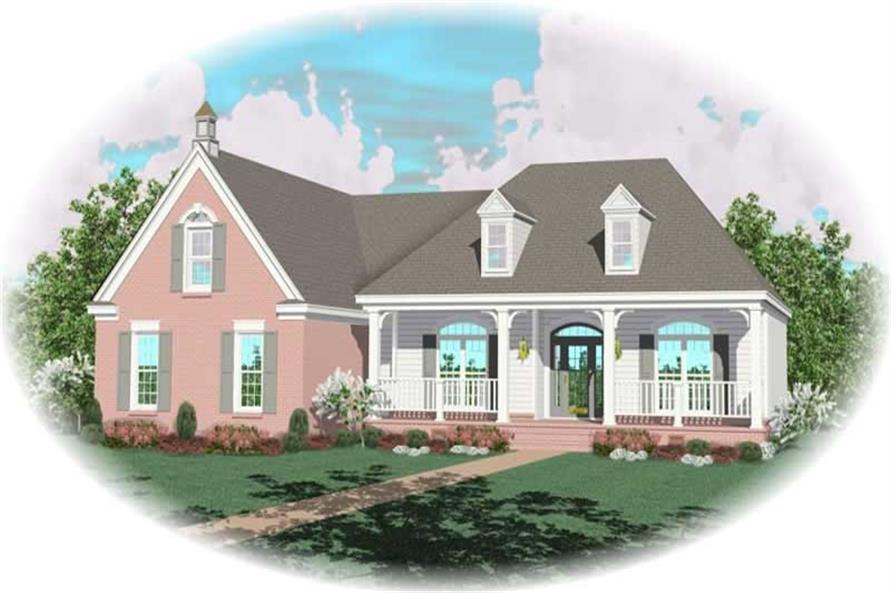 Main image for house plan # 10597