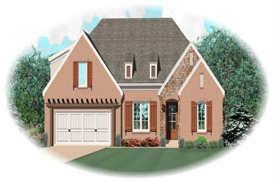 Main image for house plan # 10613