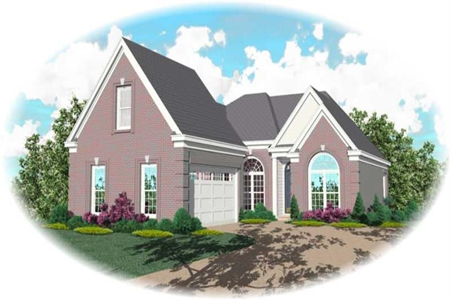 Main image for house plan # 10628