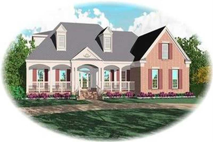 Main image for house plan # 8381