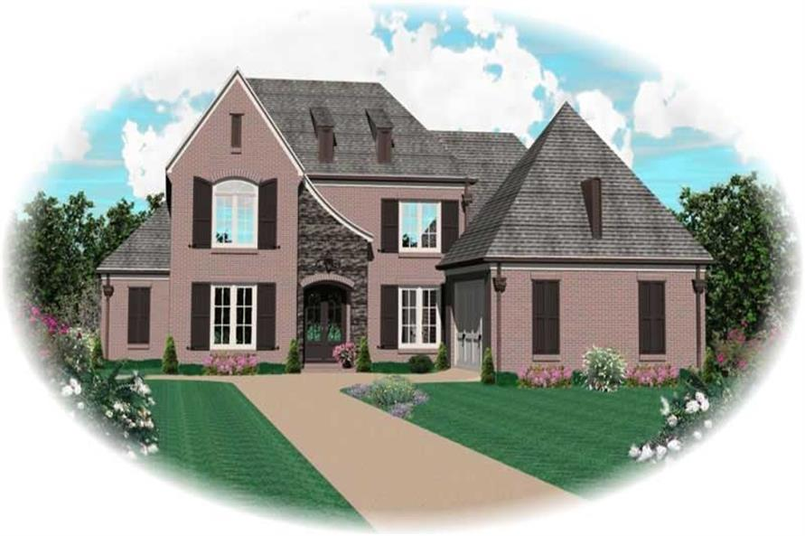 Main image for house plan # 10589