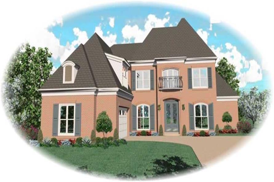 Main image for house plan # 10579