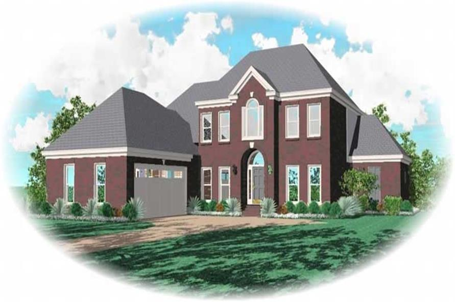 Main image for house plan # 10575