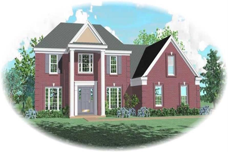 Main image for house plan # 10556