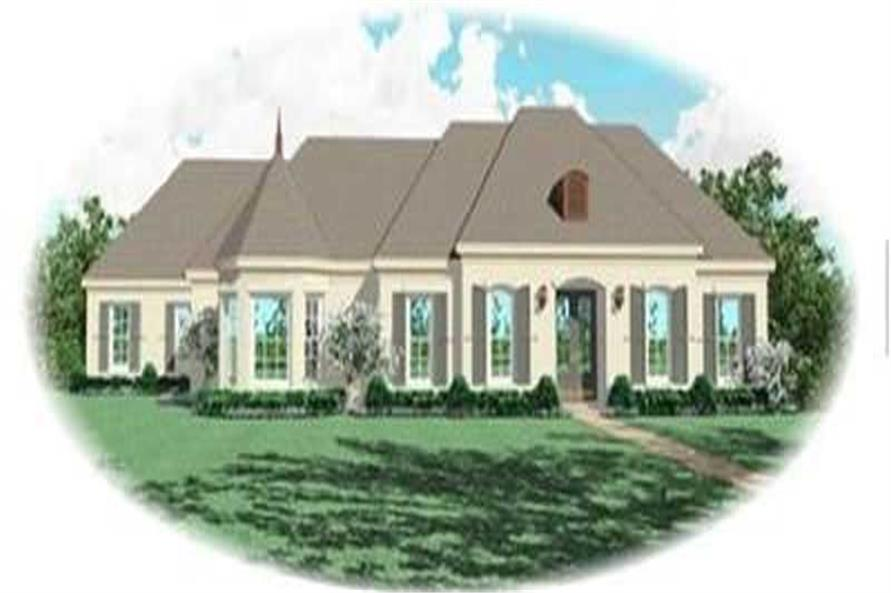 Main image for house plan # 8370